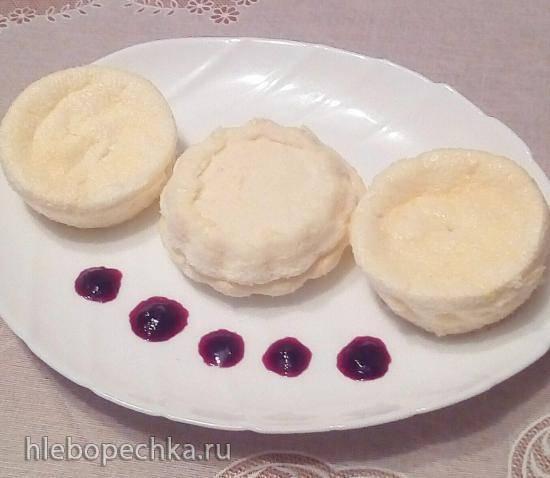 Нежный десерт без муки (полезное питание)