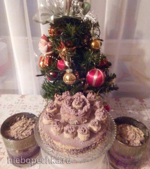 Диетические десерты на основе бисквита из овсяных хлопьев