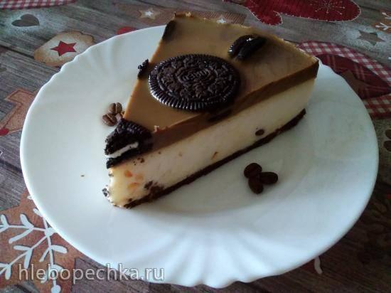 """Торт без выпечки с печеньем """"Орео"""""""