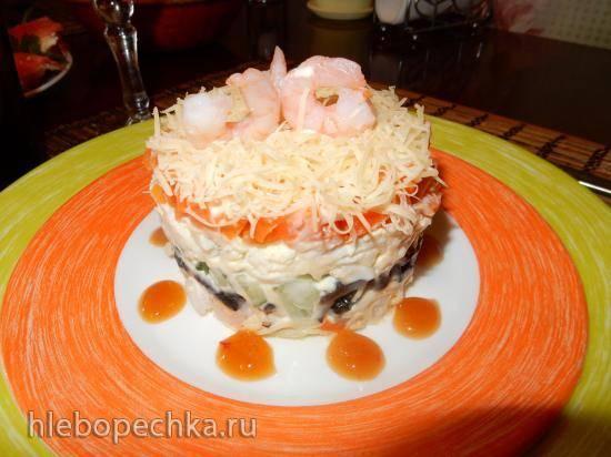 Салат Морской коктейль