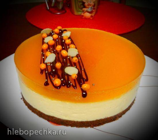 Торт муссовый Облепиховое наслаждение