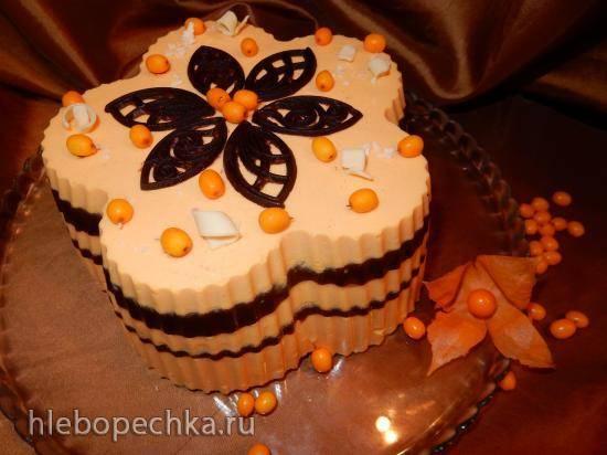Торт Облепиха и шоколад