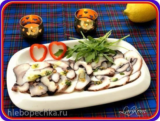 Карпаччо из осьминога