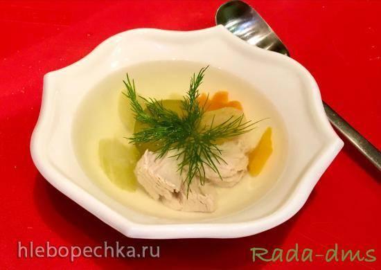 Бульон из малого филе индейки (диетический) в Мультикастрюле Ninja® Foodi® 6.5-qt.