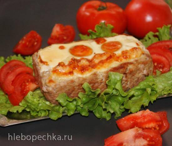Фаршированный мясной хлебец