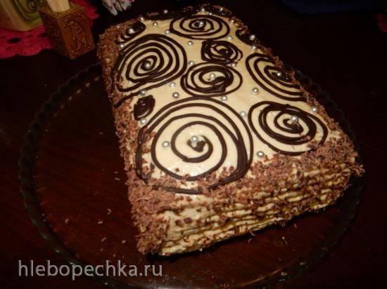 Торт Наполеоновское полено