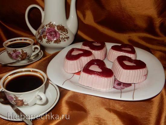 Десерт Вишневое сердце