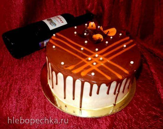 Торт морковный Сладкая парочка