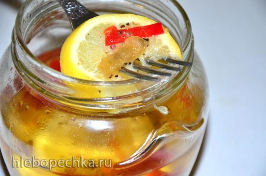 Лимоны солёные