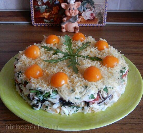 Салат с баклажанами Безумный