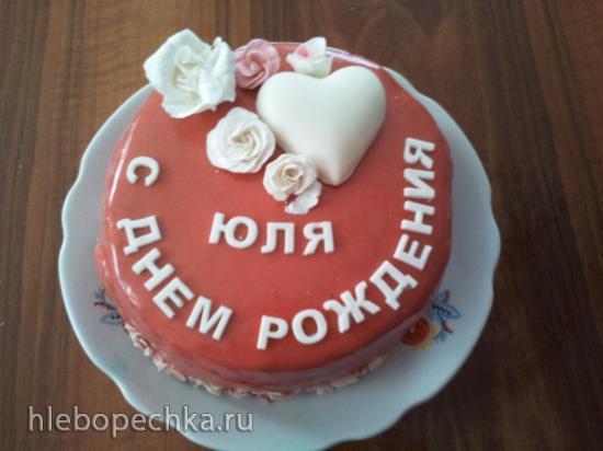 муссово - Апельсиновый тортик