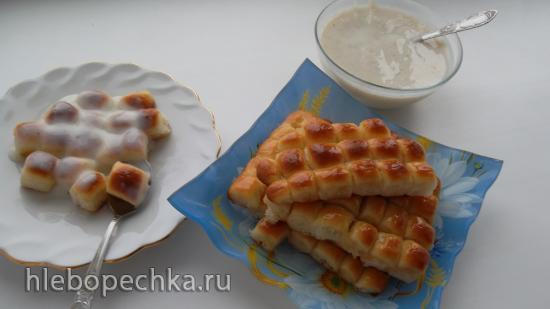 Чешские дукатовые булочки с заварным кремом (+видео)