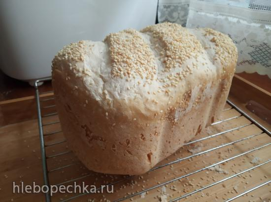 Багет на опаре пулиш ( по рецепту Д. Хамельмана) в хлебопечке Gorenje BM1600WG