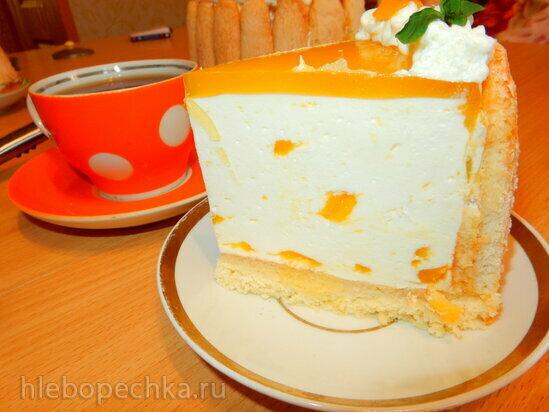 Торт-мусс Шарлотта с манго