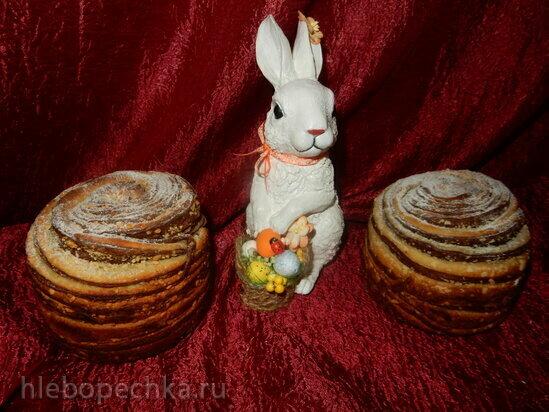 Кулич-краффин Ваниль-шоколад