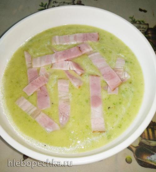 Суп-крем из цукини с беконом в Майкук