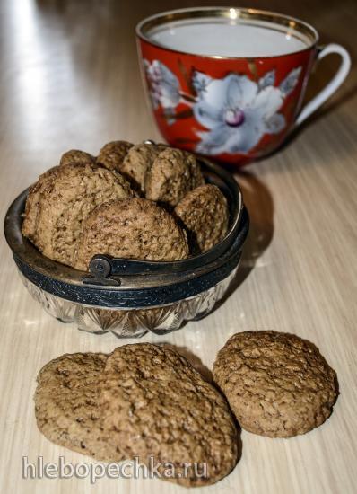 Пряное печенье на игристом