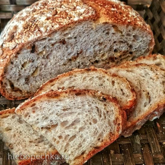 Хлеб Портос на опаре