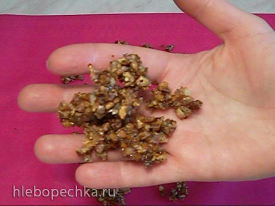 Пралине из грецких орехов (+видео)