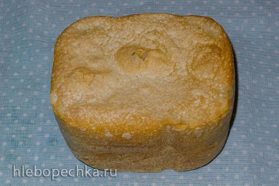 Белый хлеб на живых дрожжах из пшеничной (в/с) муки для Panasonic SD-2501