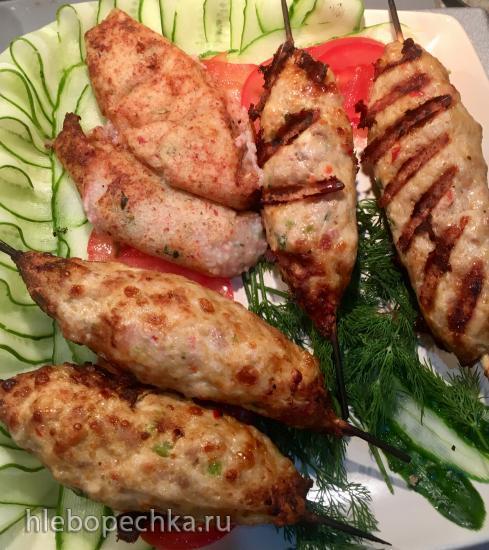 Кебаб из курицы в гриле Ninja (духовка или мангал)