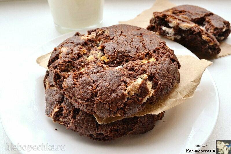 Шоколадное печенье Нью-Йорк