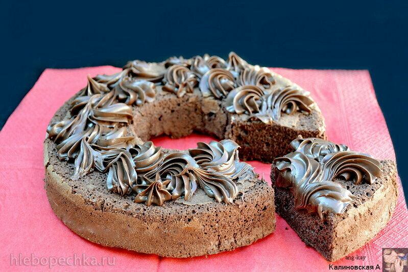 Бисквит шоколадный ангельский