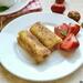 Французские тосты с крем-чизом и клубникой по-новому (+видео)