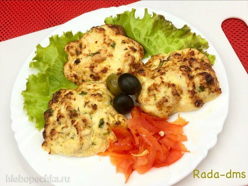 Рубленые куриные котлеты в гриле Ninja (сковорода)