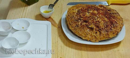 Хлеб-пицца в гриле Ninja (+видео)