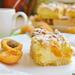 Песочное пирожное с абрикосом и пудингом (+видео)