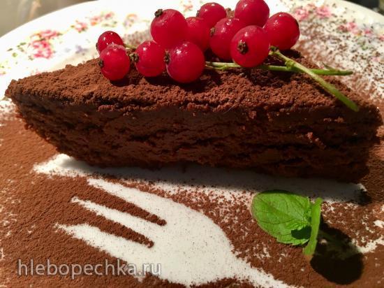 Чизкейк из японского шоколадного суфле