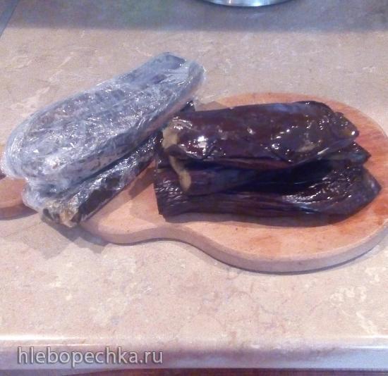Заготовки из баклажан для замораживания (2 способа)