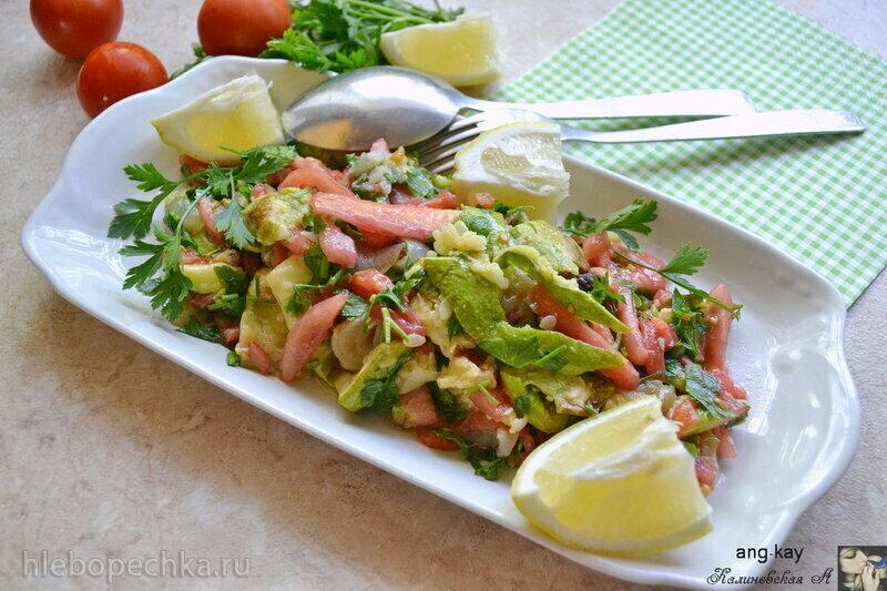 Мафкуса - арабский салат из запеченных кабачков (+видео)