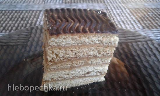 """Торт """"Медовик простейший"""" (рецепт из далёких 60-х)"""