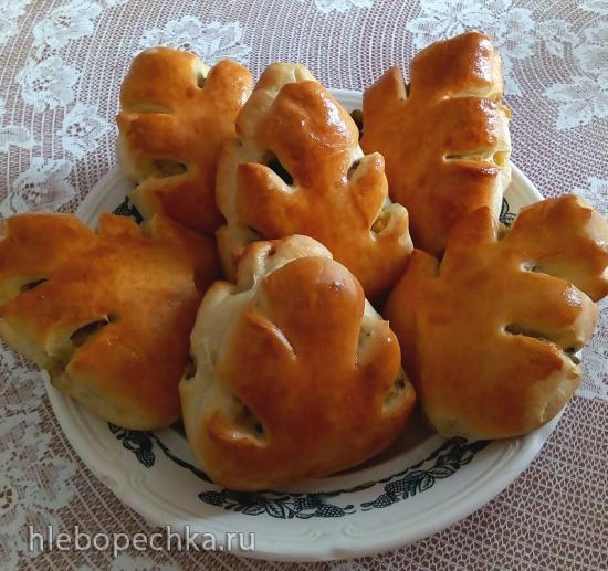 """Пироги с картошкой и грибами """"осенний листопад"""""""