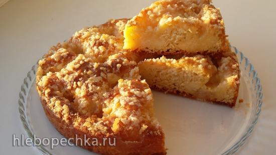Французский сливочный пирог (+видео)