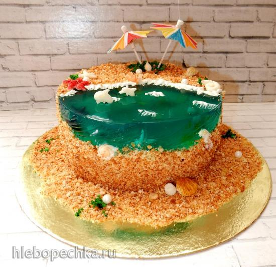 Торт муссовый Лагуна