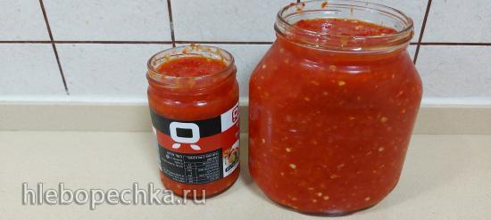 Канкочи - острый корейский соус, аджика, для кимчи и чимчи (+видео)