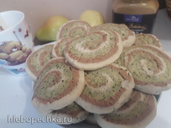 Печенье с корицей и мятой