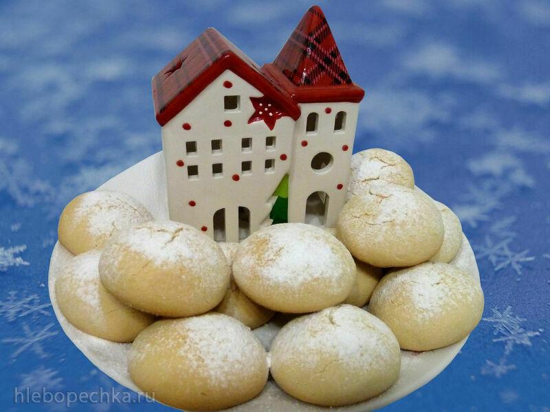 Рождественское печенье на сгущёнке