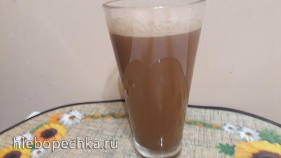 Коктейль шоколадный с газированной водой