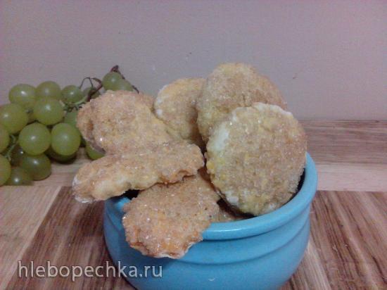 Печенье из картофеля круглое с сахаром