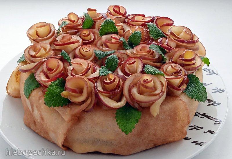 Блинный торт «Масленица» (+видео)