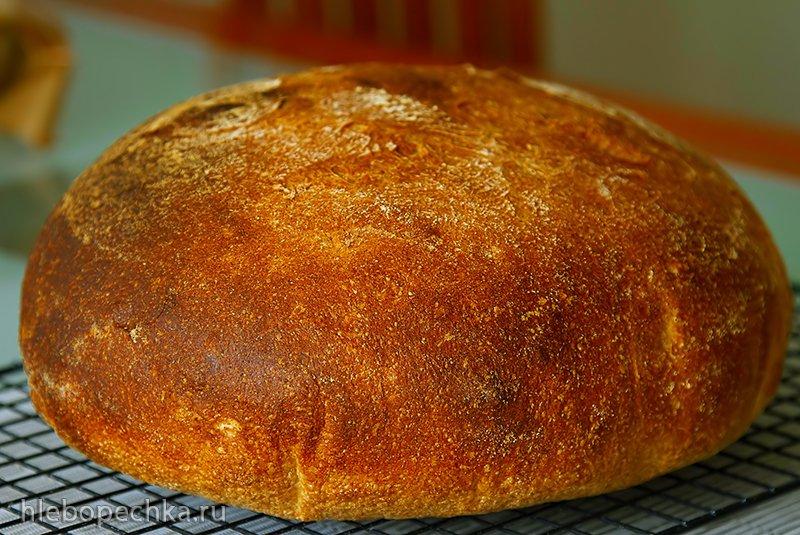 Ремесленный хлеб (50% цельнозерновой)