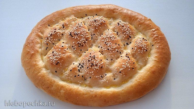 Лепешка узбекская на молоке (+видео)