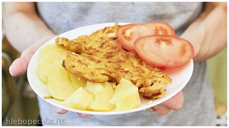Приготовь этот ужин | куриное филе в сырном кляре.