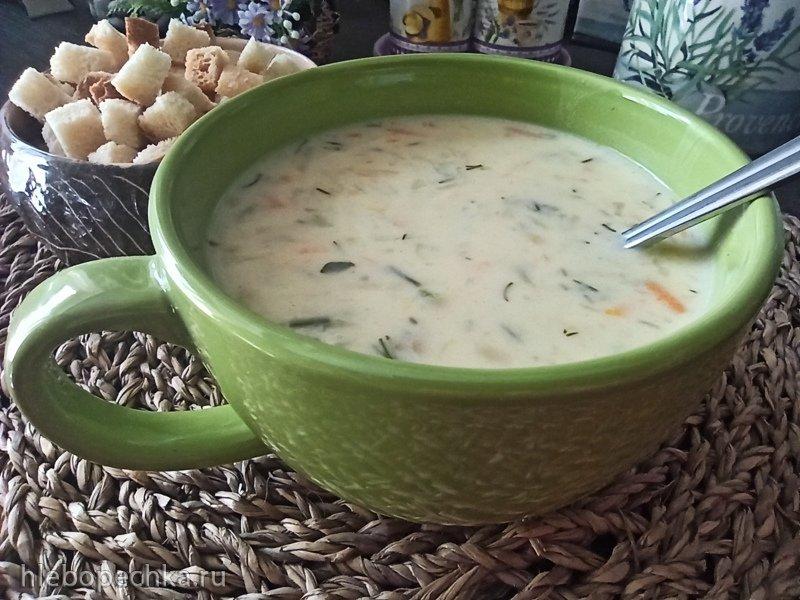 Сырный суп с тëртым картофелем в мультиварке (+видео)