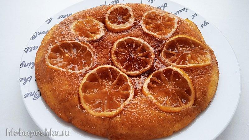 Дачный лимонный пирог без духовки (+видео)