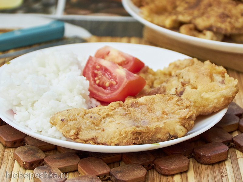 Ужин из рыбки на раз и два: Пангасиус в яйце (+видео)